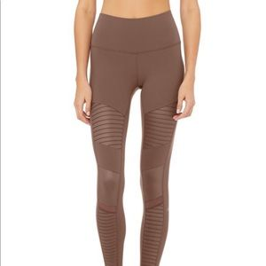 Alo Yoga- High Waist Moto Leggings